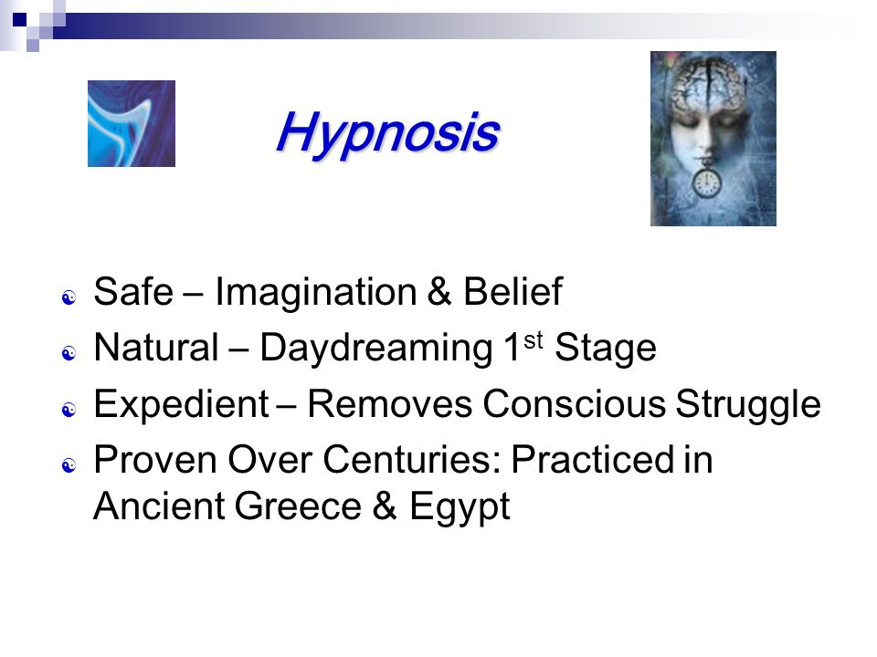 Hypnosis Safe – Imagination & Belief Natural – Daydreaming 1st Stage