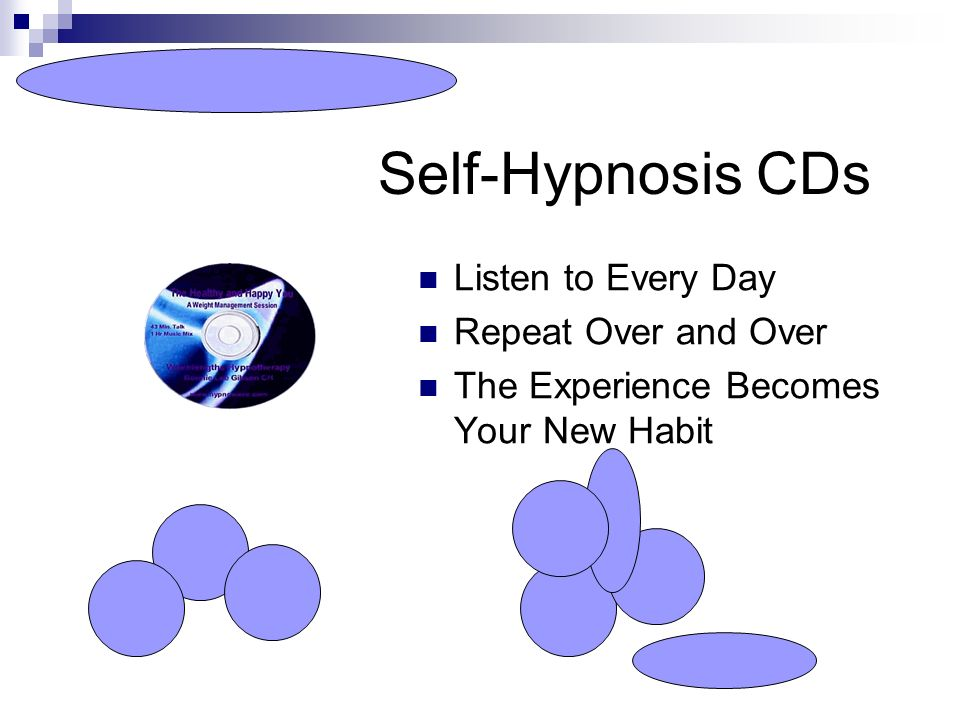 Self-Hypnosis CDs Listen to Every Day Repeat Over and Over