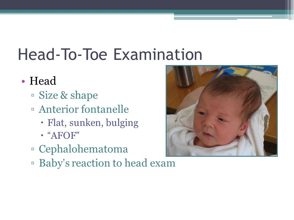 Head-To-Toe Examination