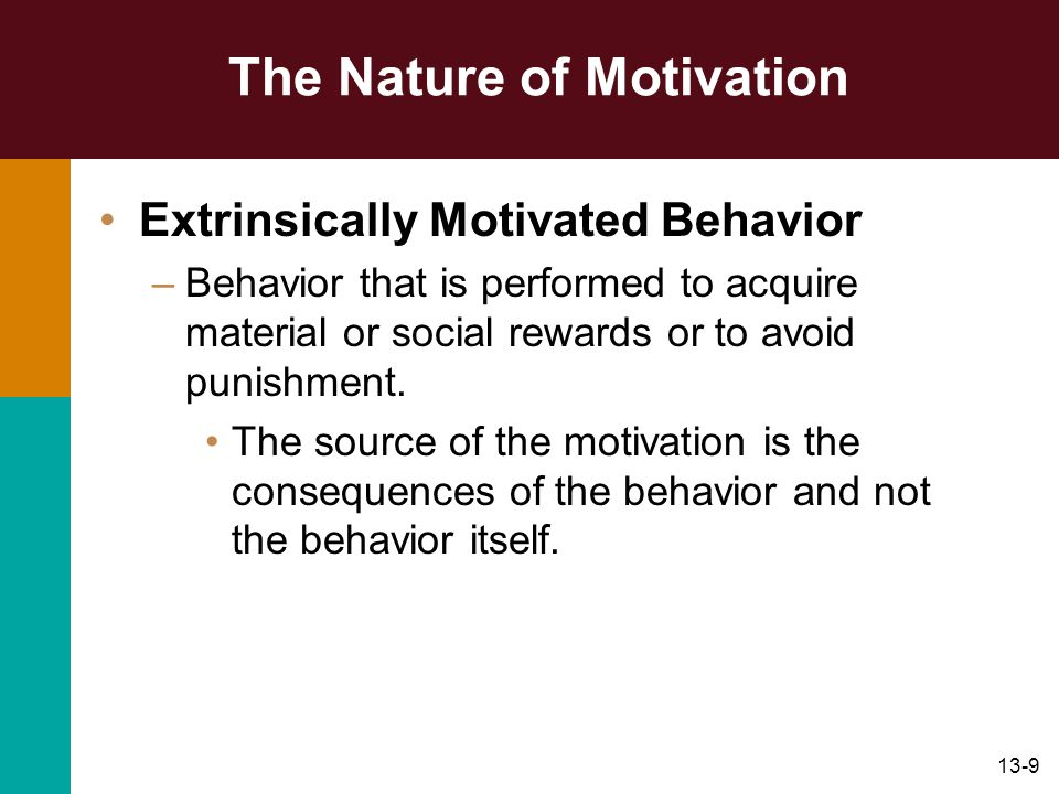 motivation and behavior Home » dbr online » 15 ways to motivate and influence employee behaviour, faster 15 ways to motivate and influence employee behaviour, faster posted by.