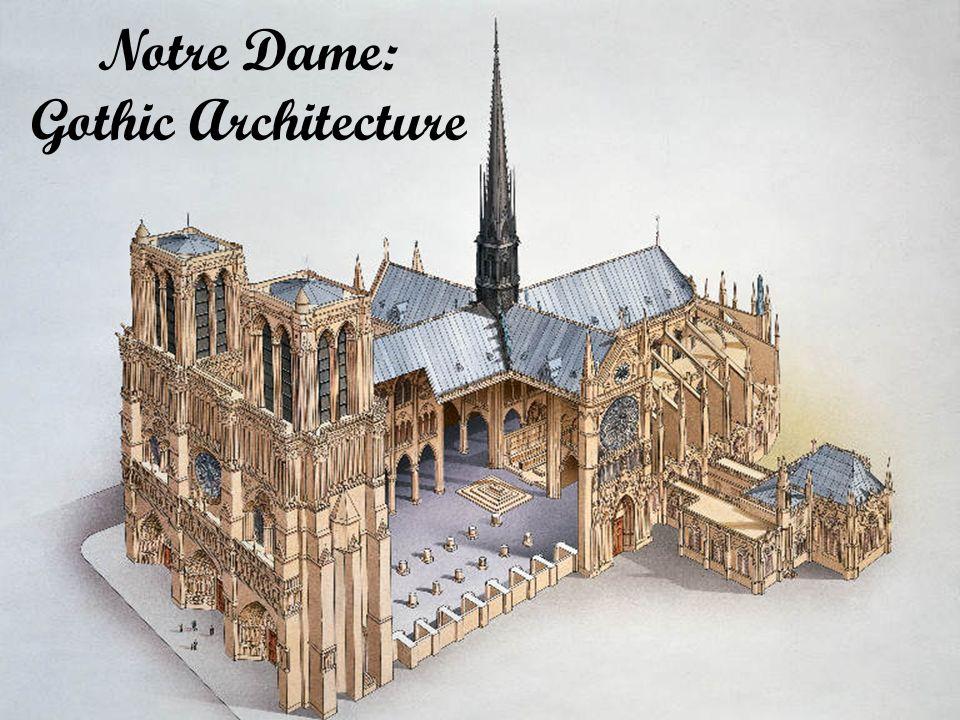 Notre Dame: Gothic Architecture