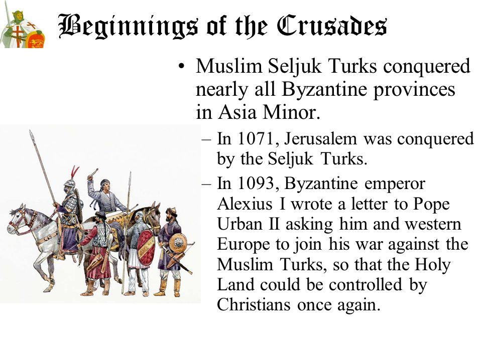 Beginnings of the Crusades