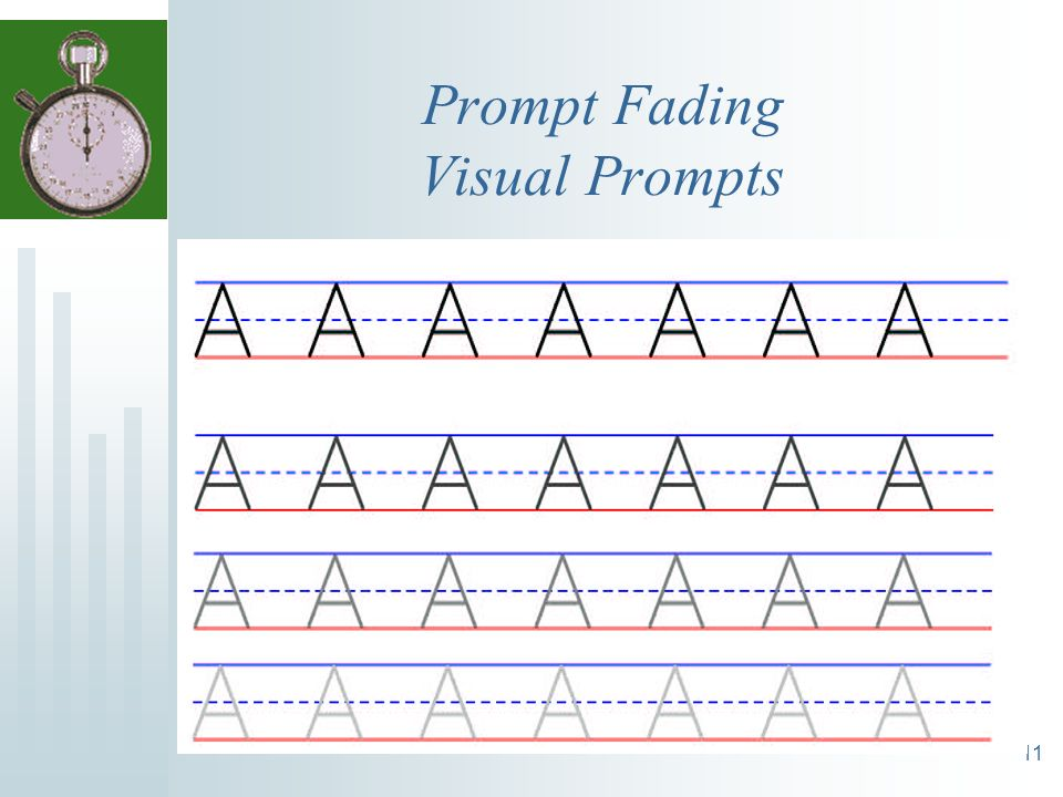 Prompt Fading Visual Prompts