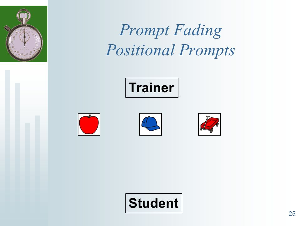 Prompt Fading Positional Prompts
