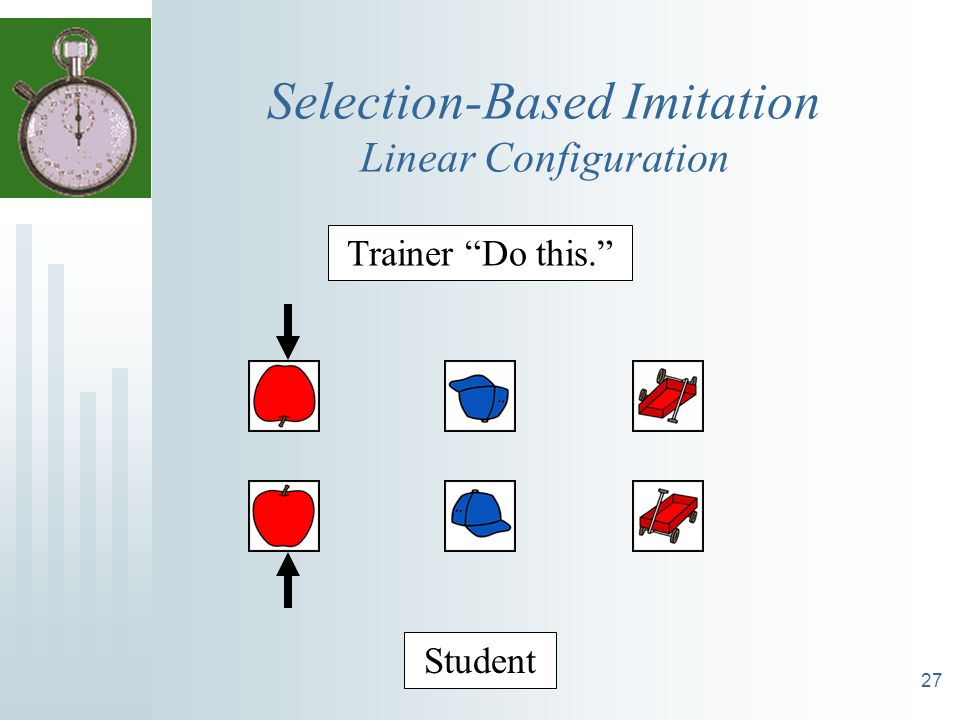 Selection-Based Imitation Linear Configuration
