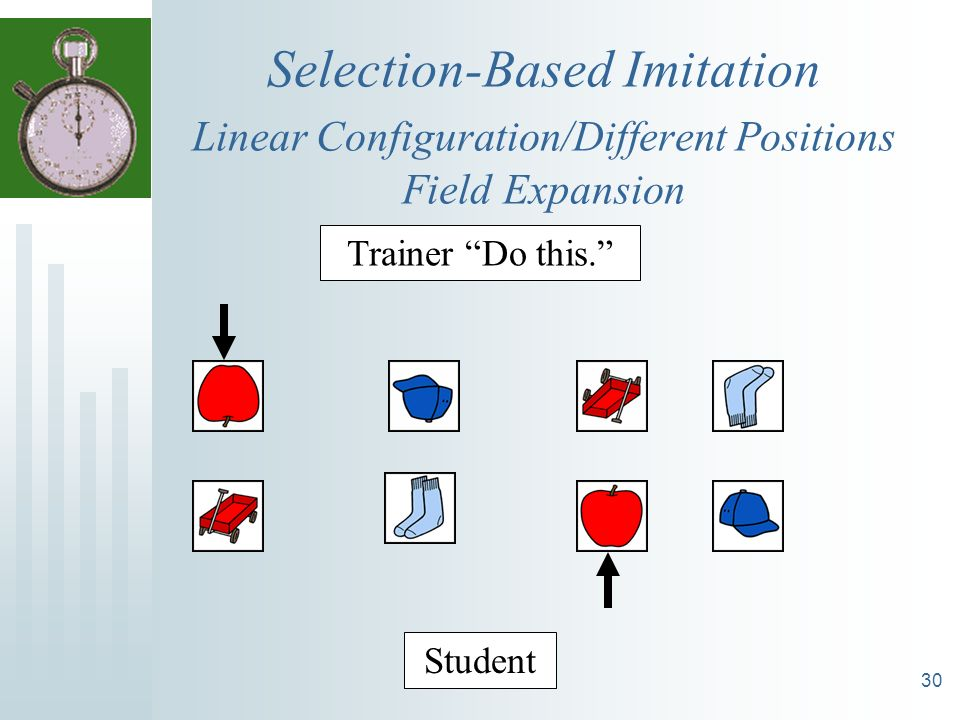 Selection-Based Imitation Linear Configuration/Different Positions Field Expansion