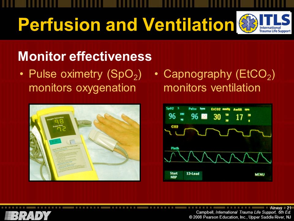 Perfusion and Ventilation