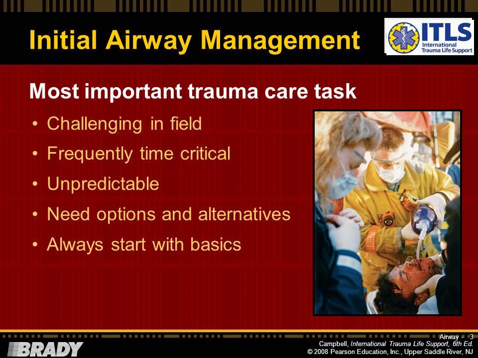 Initial Airway Management