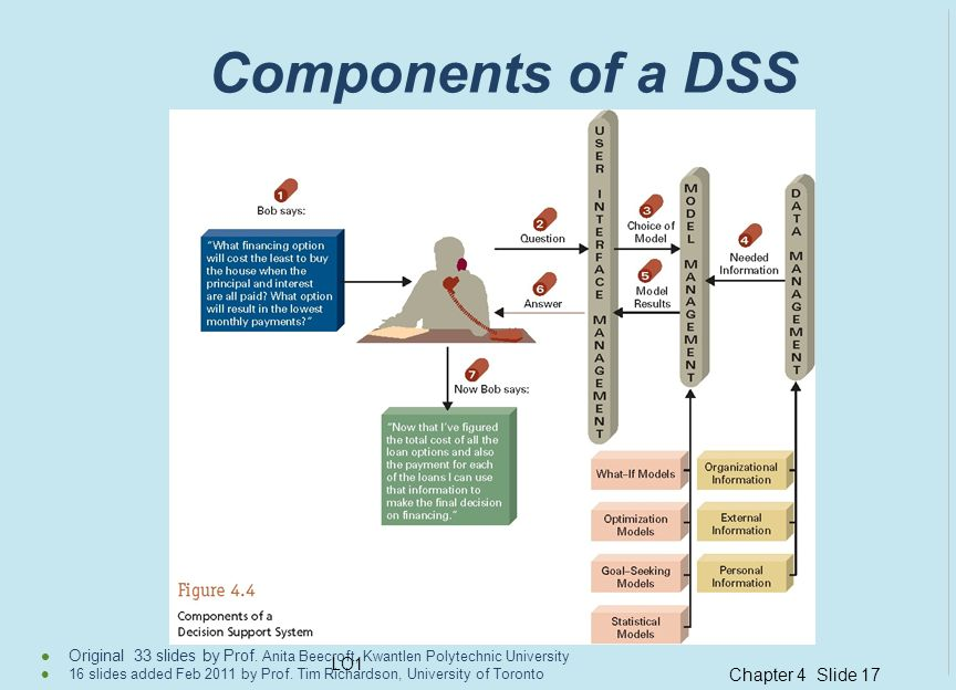 Components of a DSS LO1