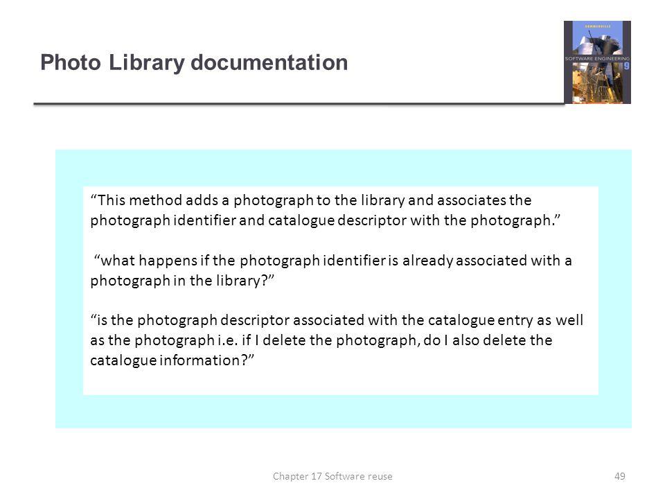 Photo Library documentation