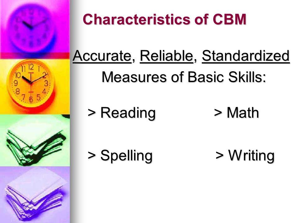 Characteristics of CBM