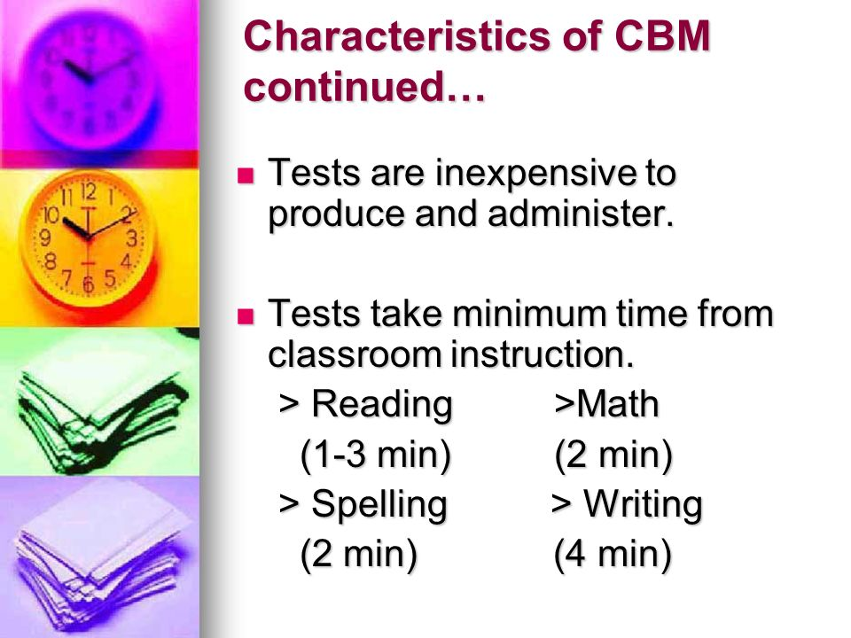 Characteristics of CBM continued…