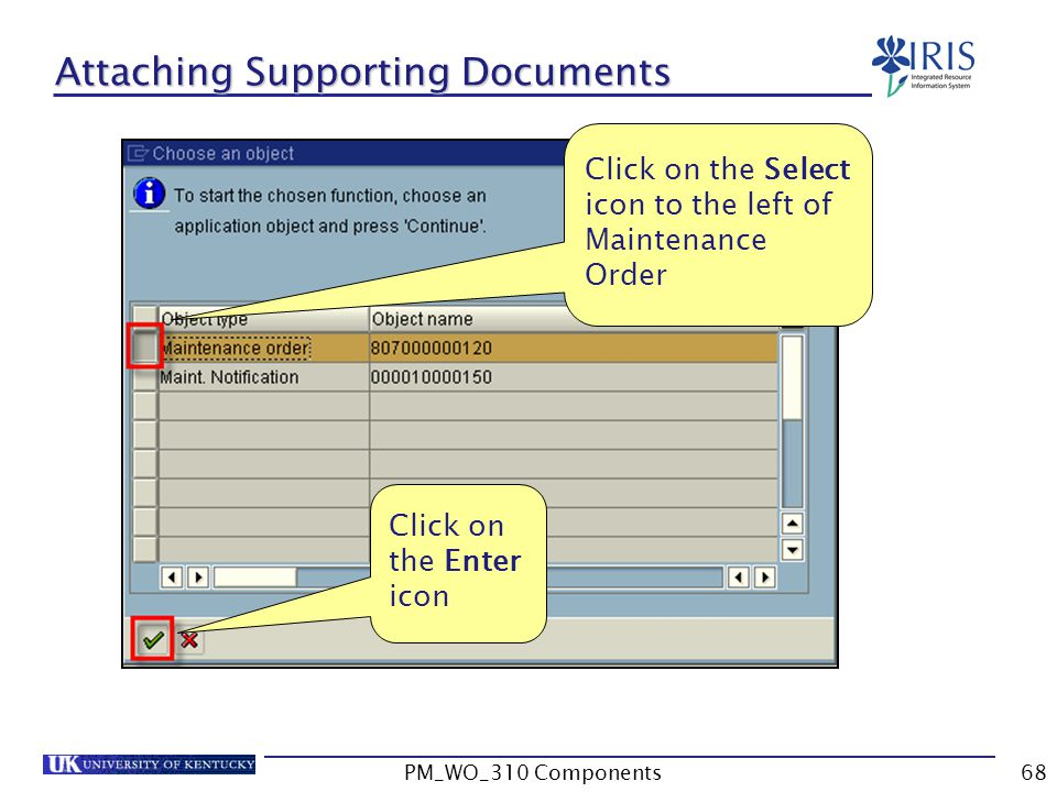 Attaching Supporting Documents