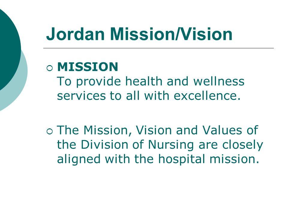 Jordan Mission/Vision