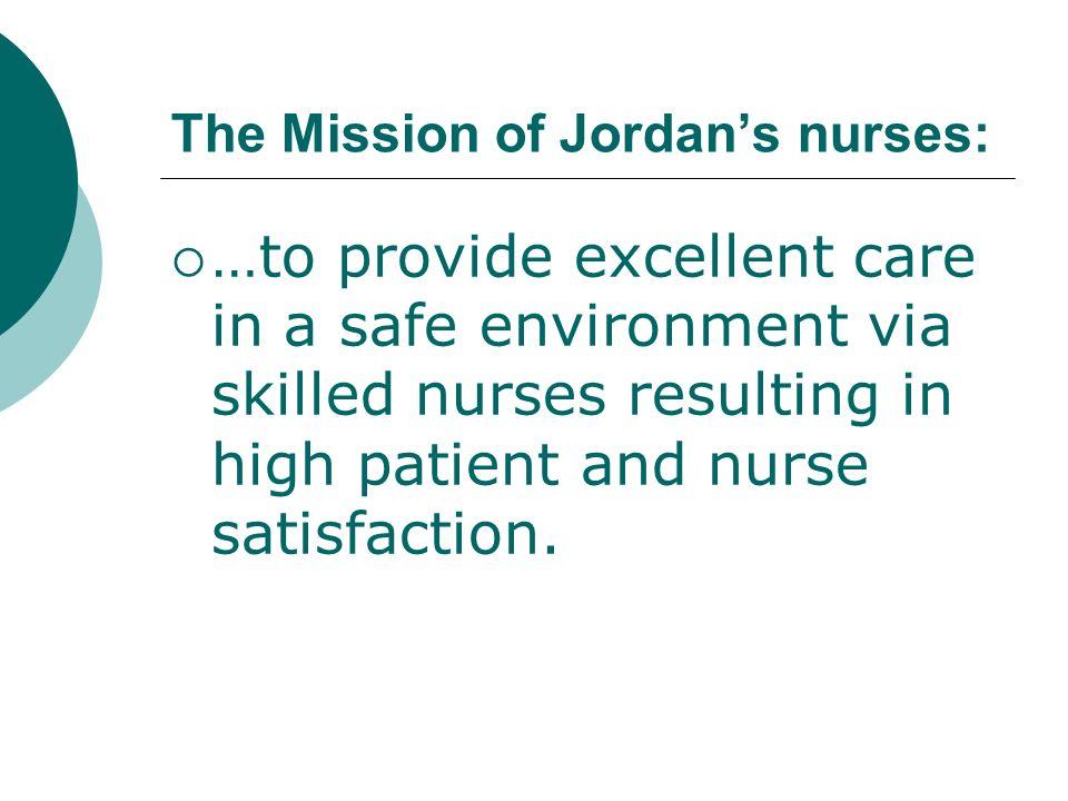 The Mission of Jordan's nurses: