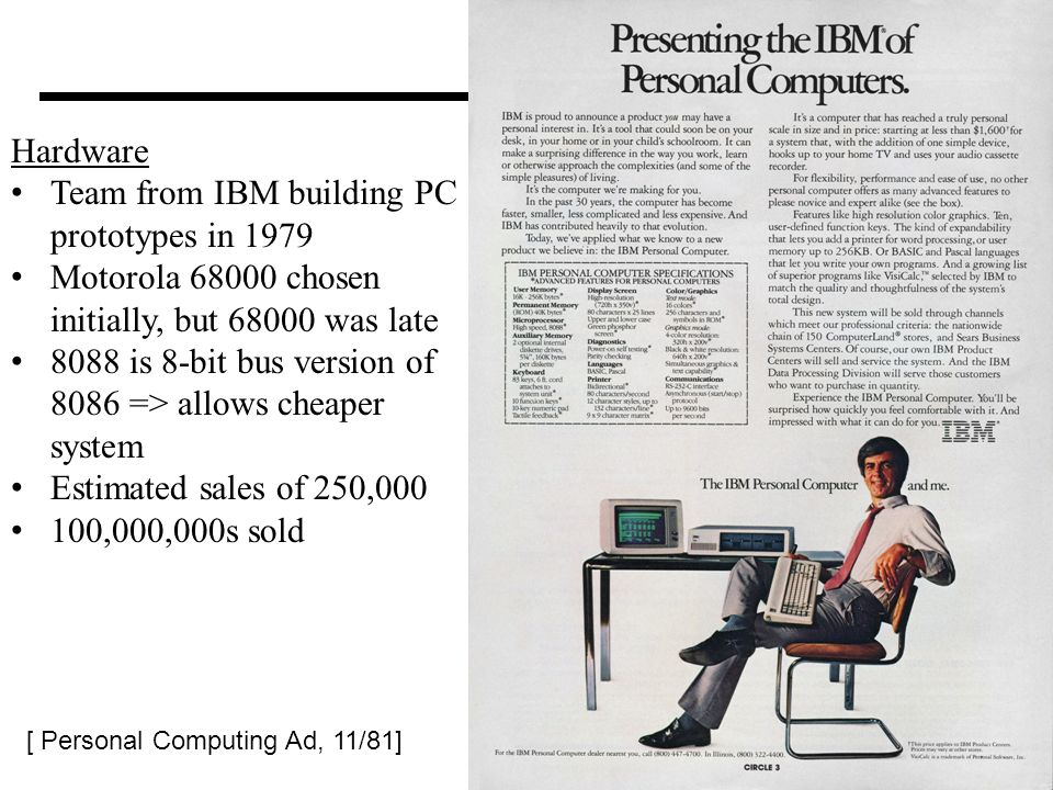 Team from IBM building PC prototypes in 1979