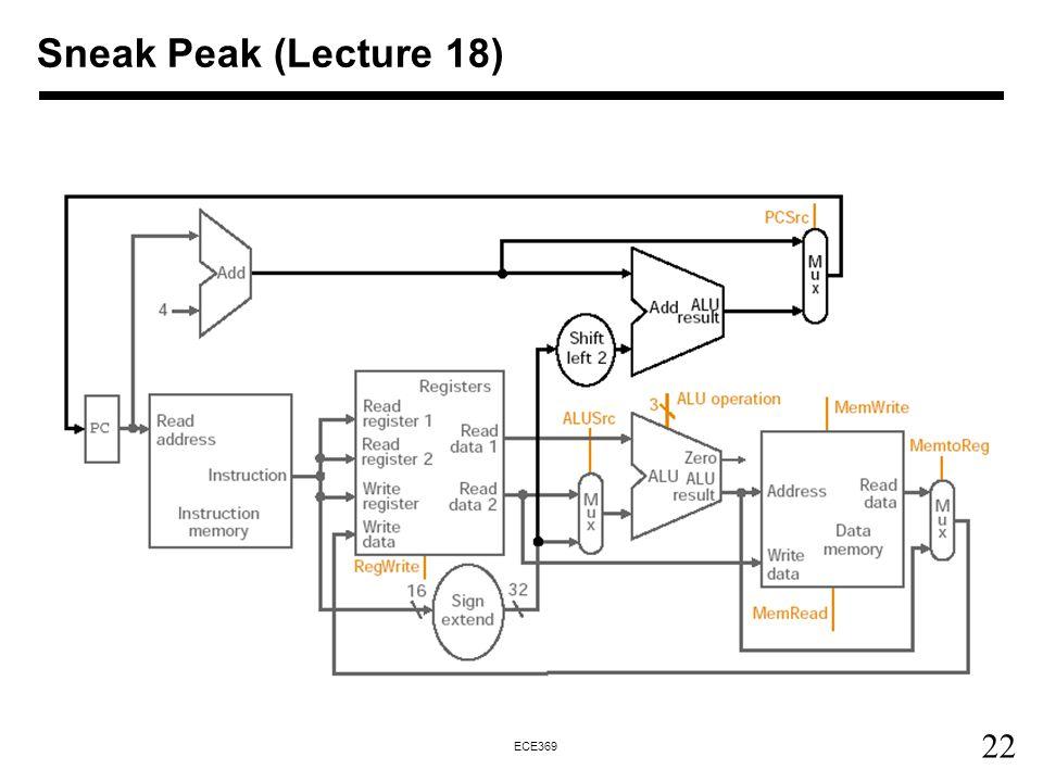 Sneak Peak (Lecture 18)