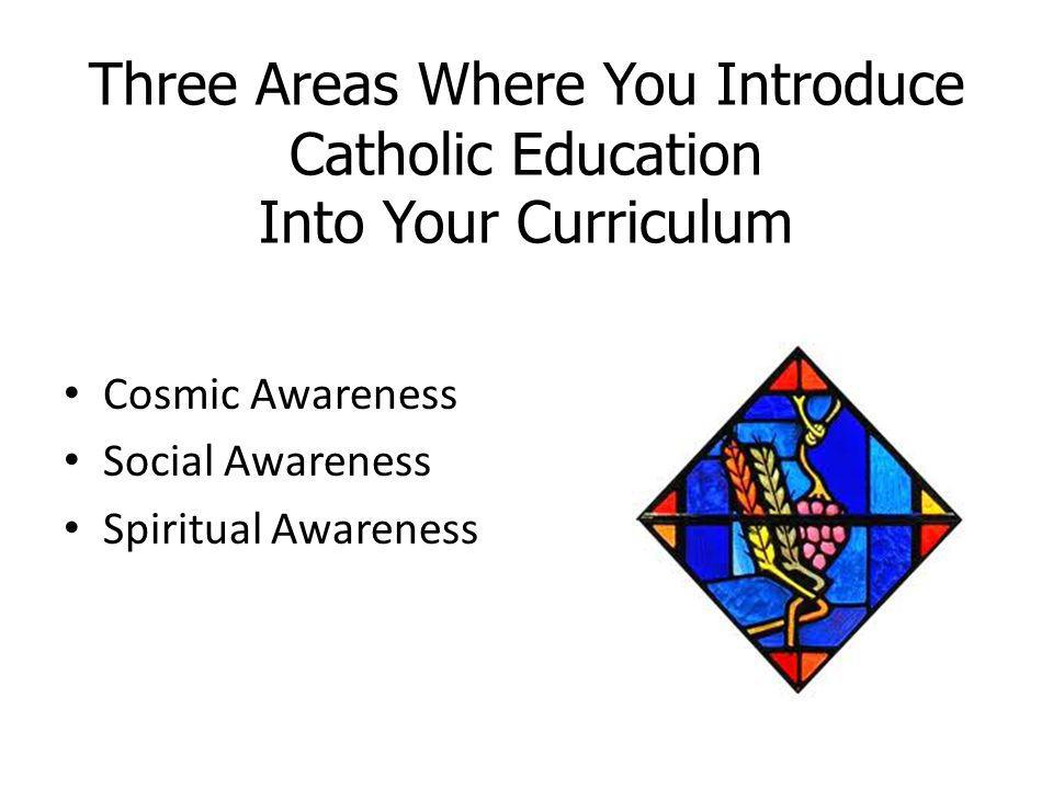 Three Areas Where You Introduce Catholic Education Into Your Curriculum