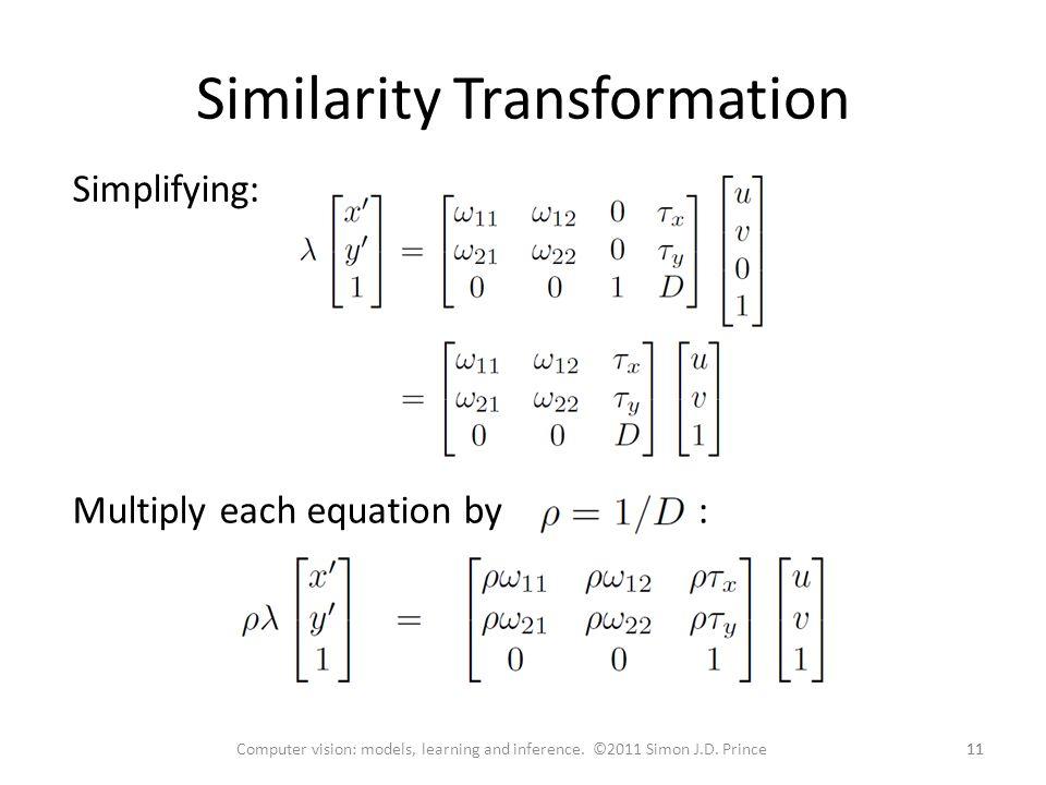 Similarity Transformation