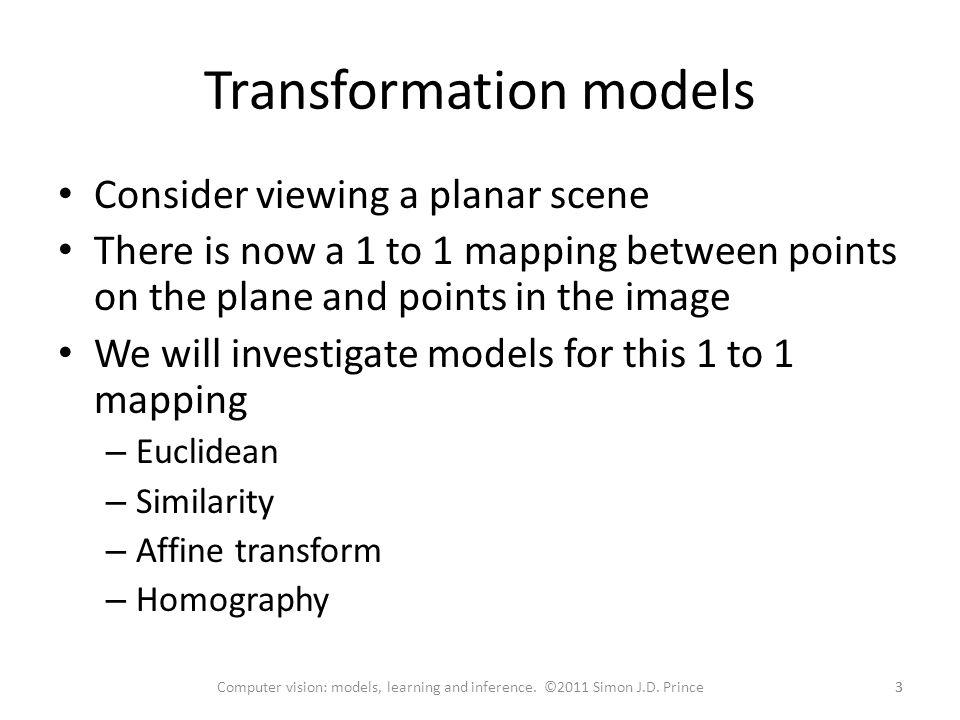 Transformation models