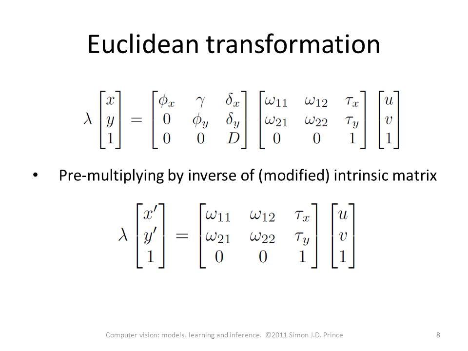 Euclidean transformation