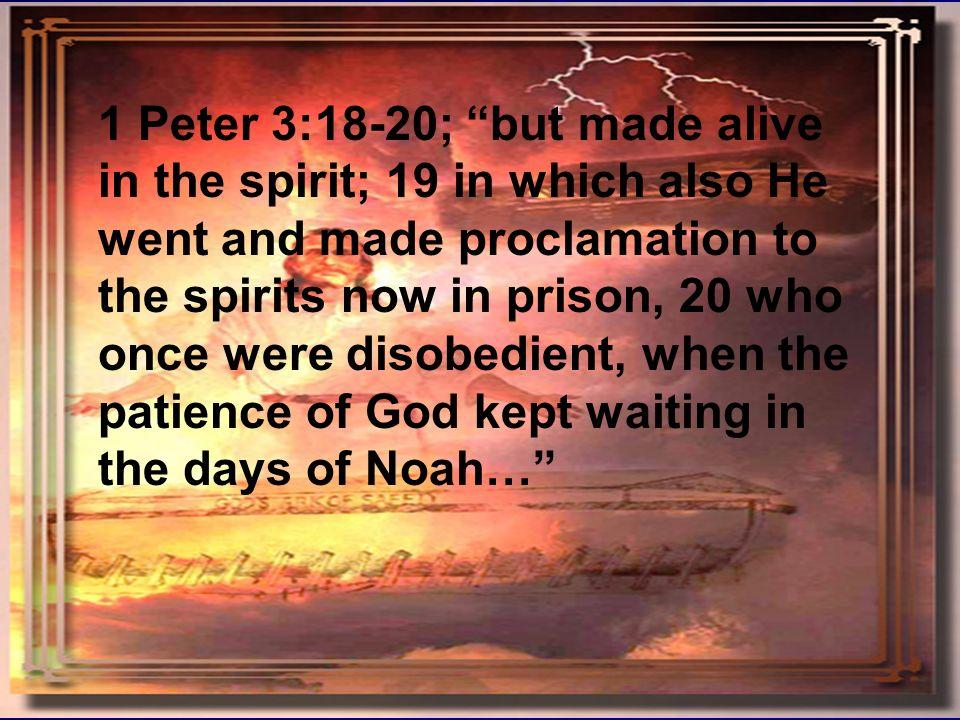 Noah forshadowing Christ