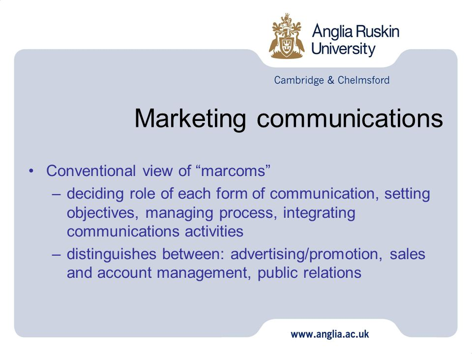 Unlocking Value from Integrated Corporate Communications and Marketing