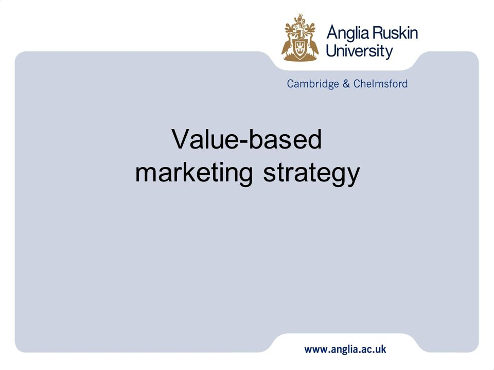 value based marketing prep Value based pricing is a pricing strategy in which the price of a product or a service is decided on the basis of perceived value or benefit it can provide to a customer.