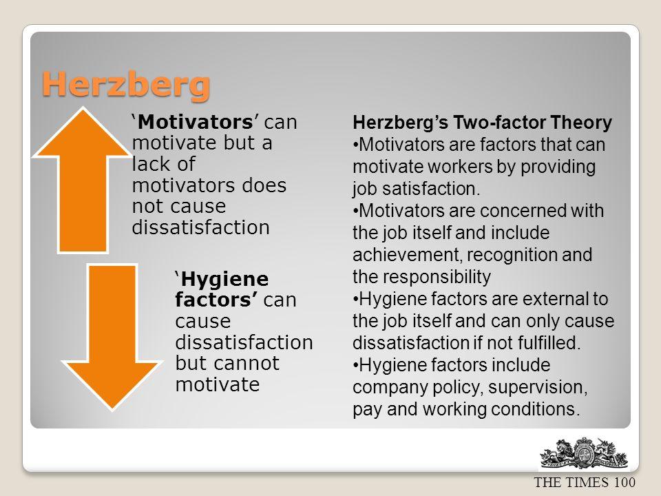Herzberg Herzberg's Two-factor Theory
