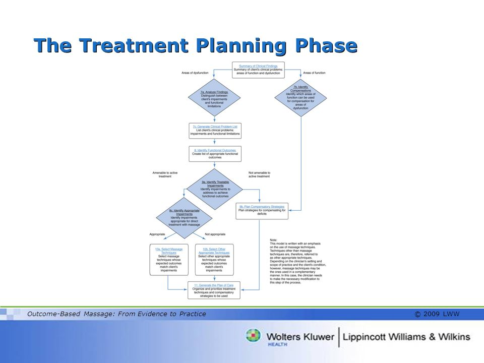 The Treatment Planning Phase