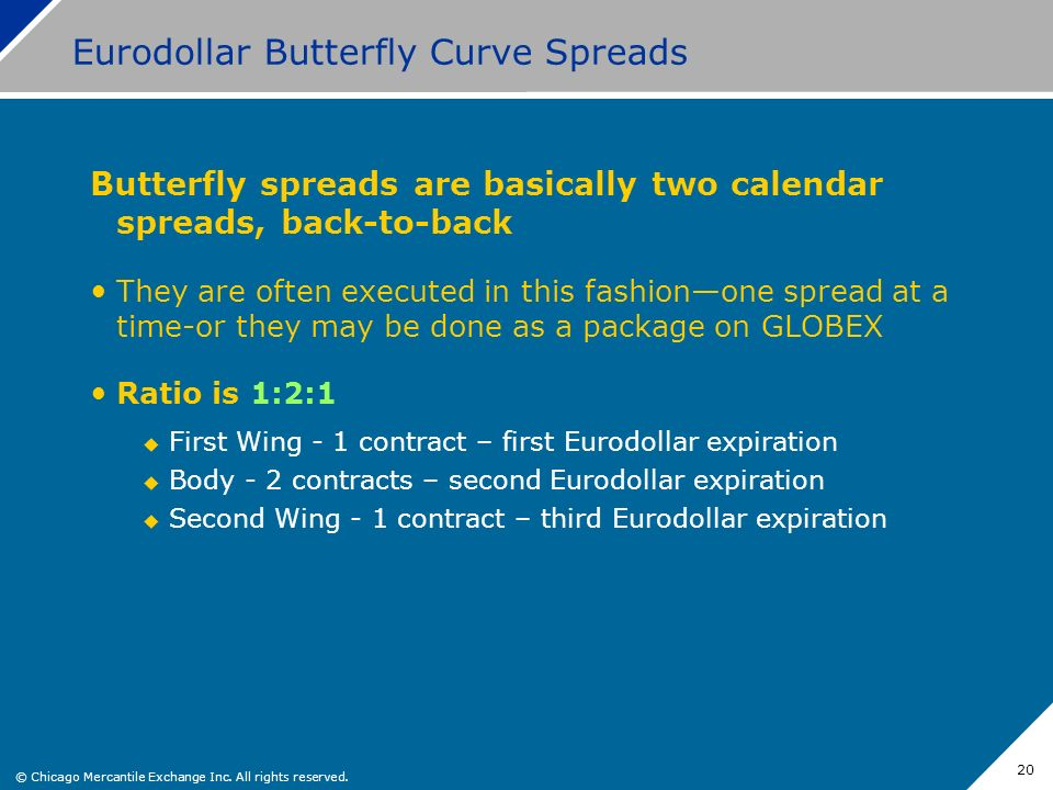 Eurodollar Butterfly Curve Spreads
