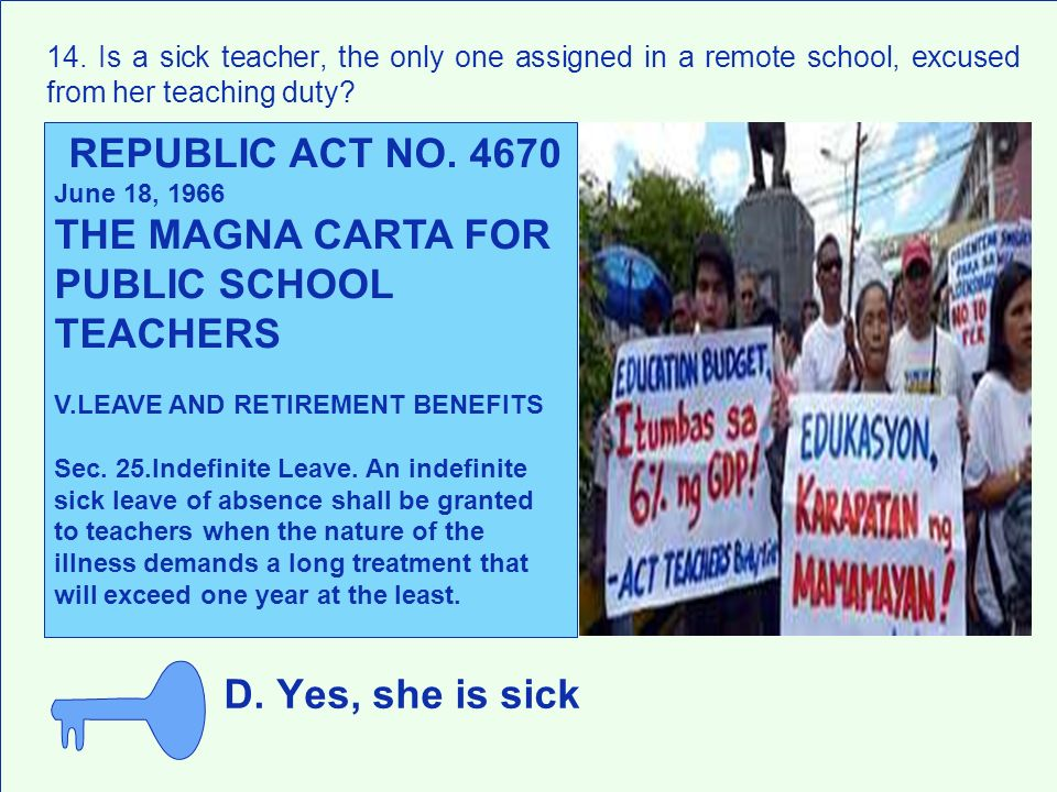 THE MAGNA CARTA FOR PUBLIC SCHOOL TEACHERS
