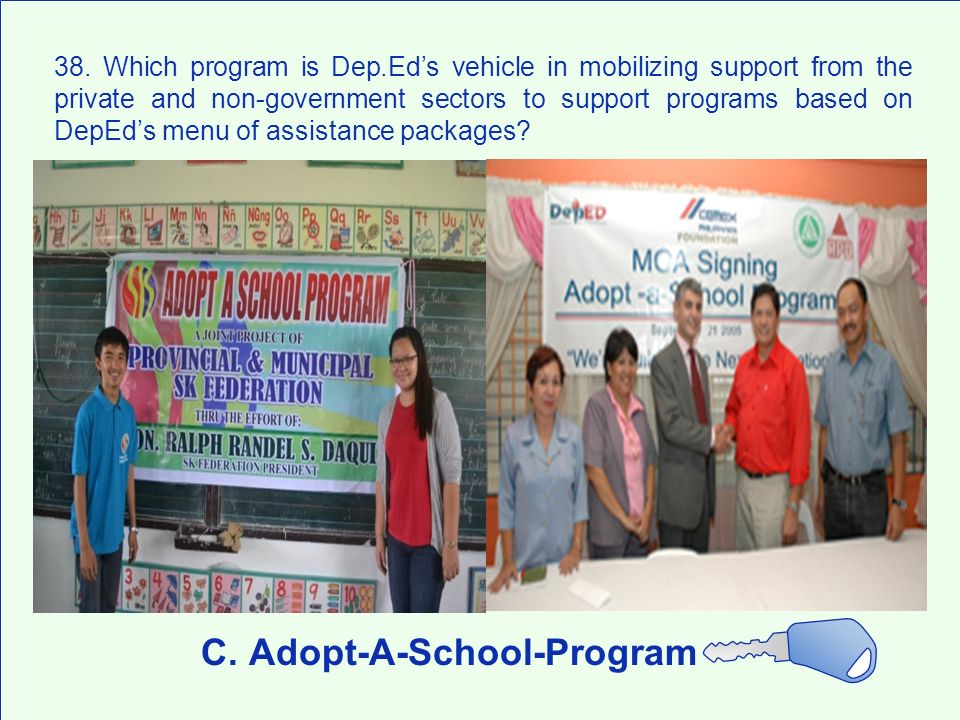 C. Adopt-A-School-Program
