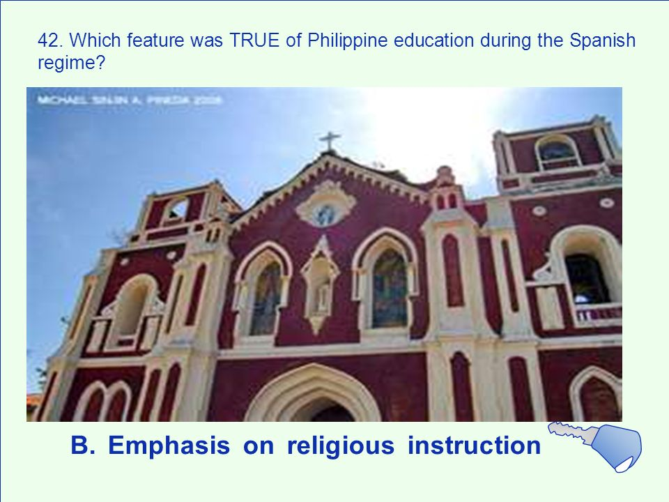 B. Emphasis on religious instruction