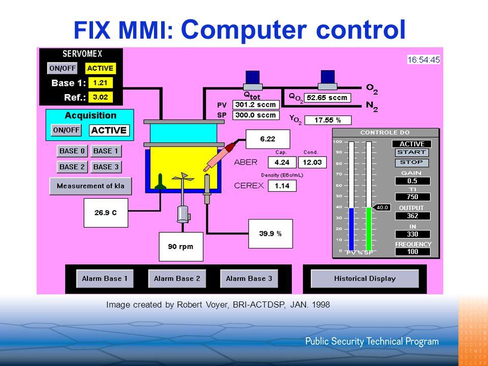 FIX MMI: Computer control