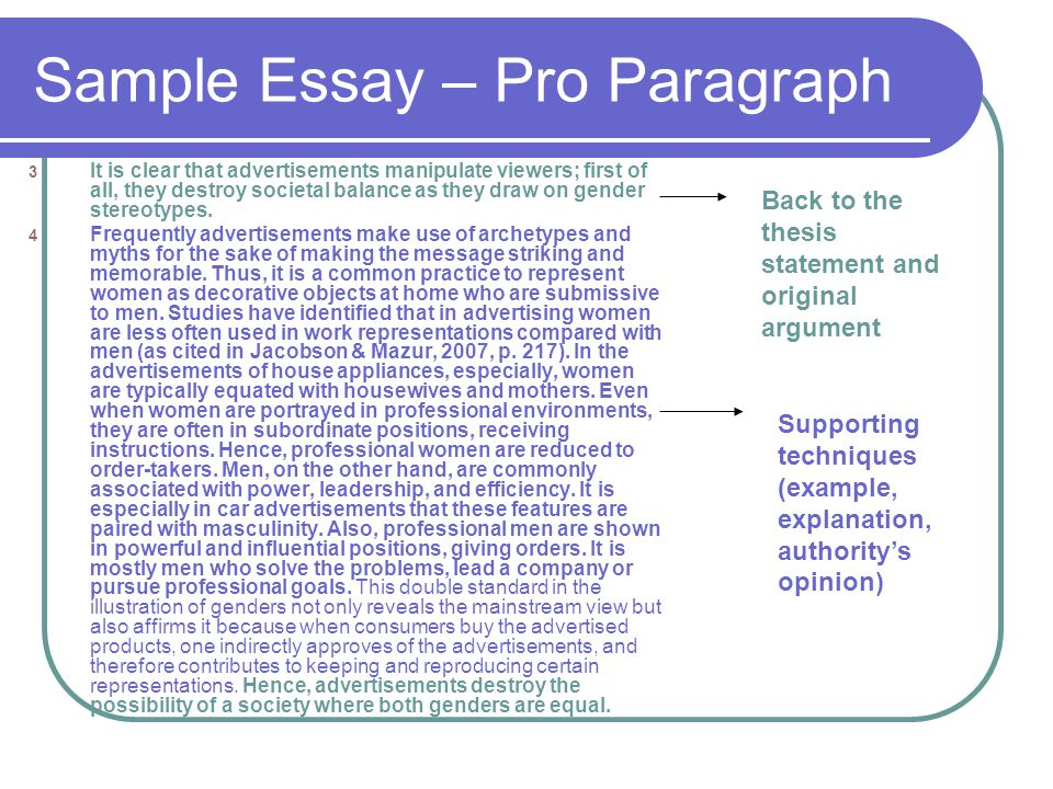 thesis statement for pro choice essay
