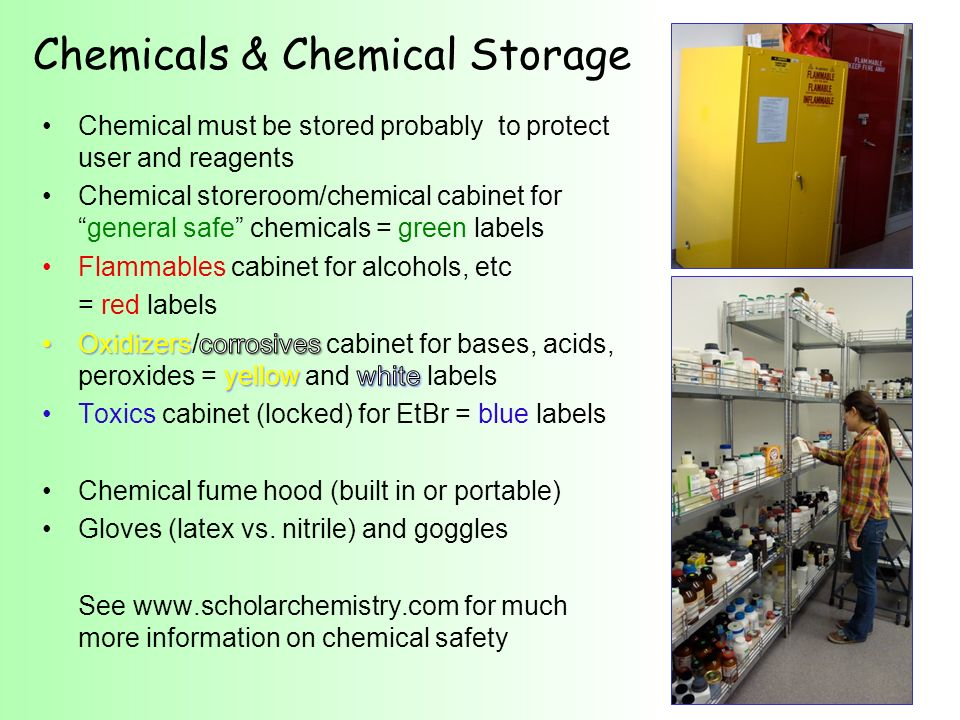 Chemicals & Chemical Storage