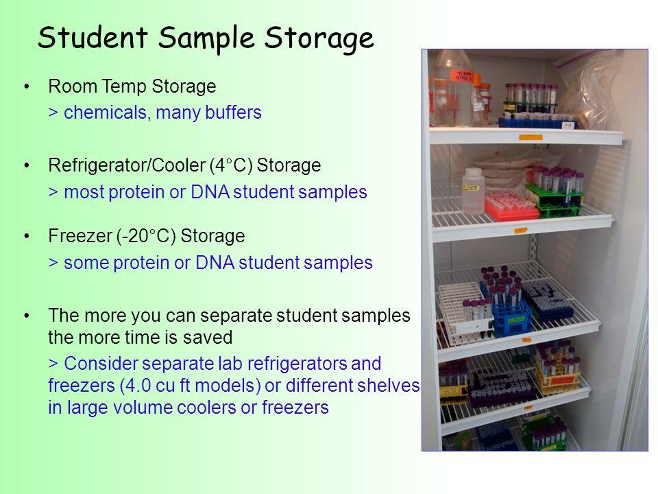 Student Sample Storage