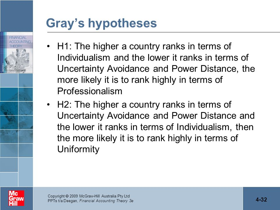 Gray's hypotheses