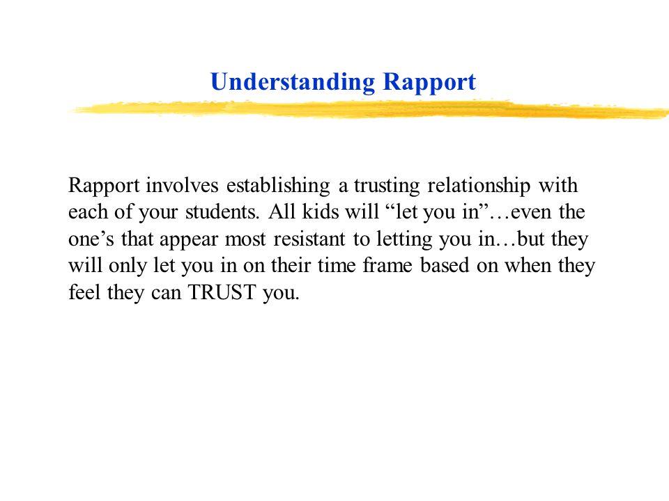 Understanding Rapport