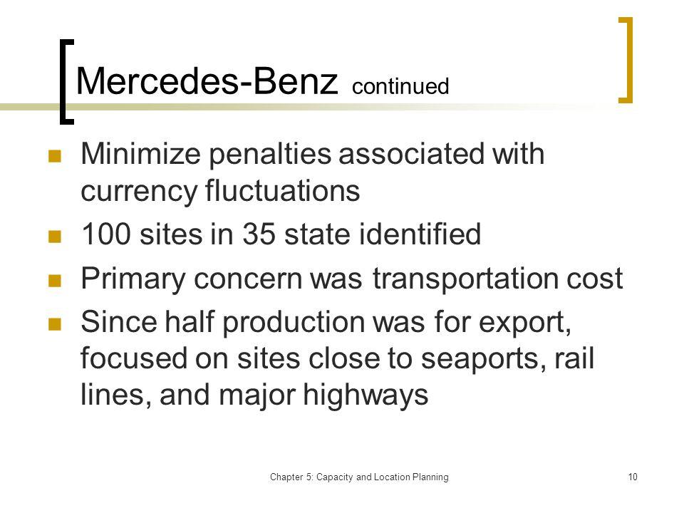 Mercedes-Benz continued