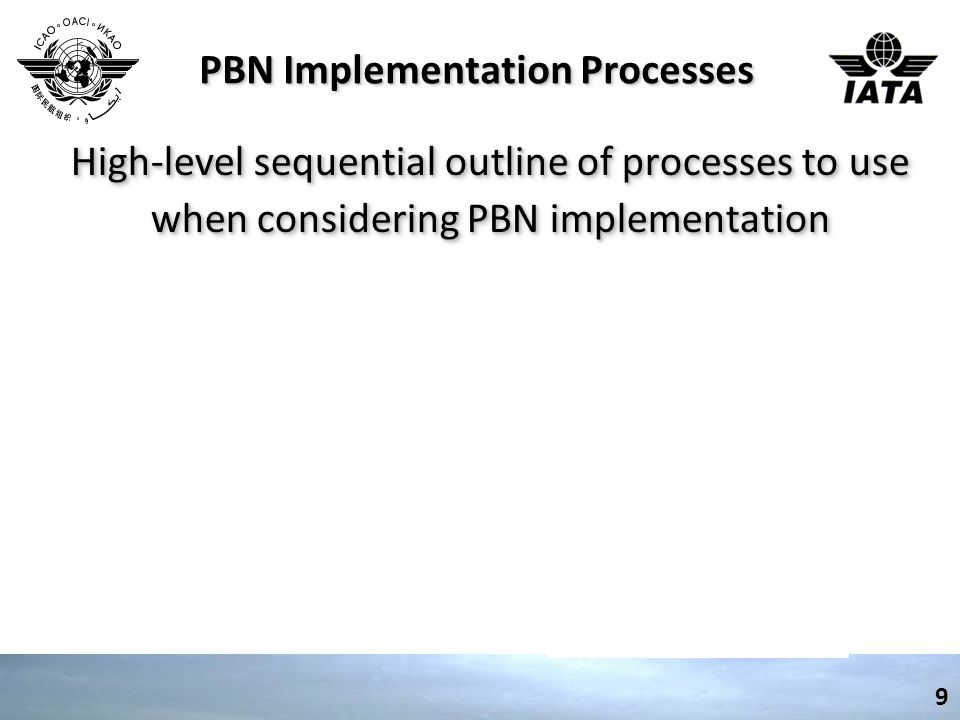 PBN Implementation Processes