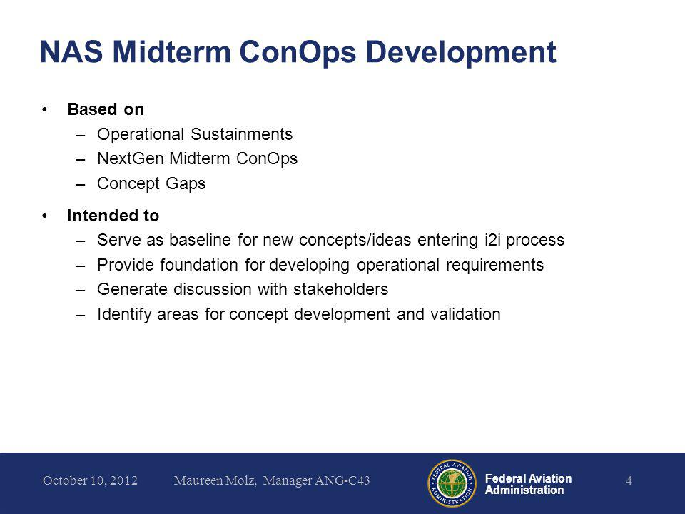 NAS Midterm ConOps Development