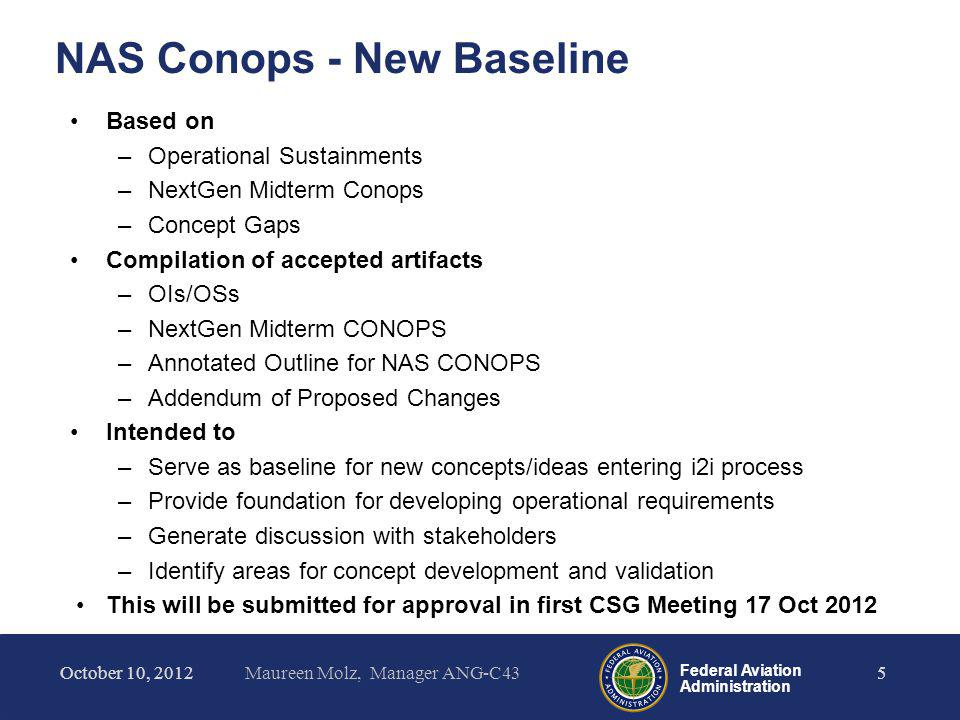 NAS Conops - New Baseline