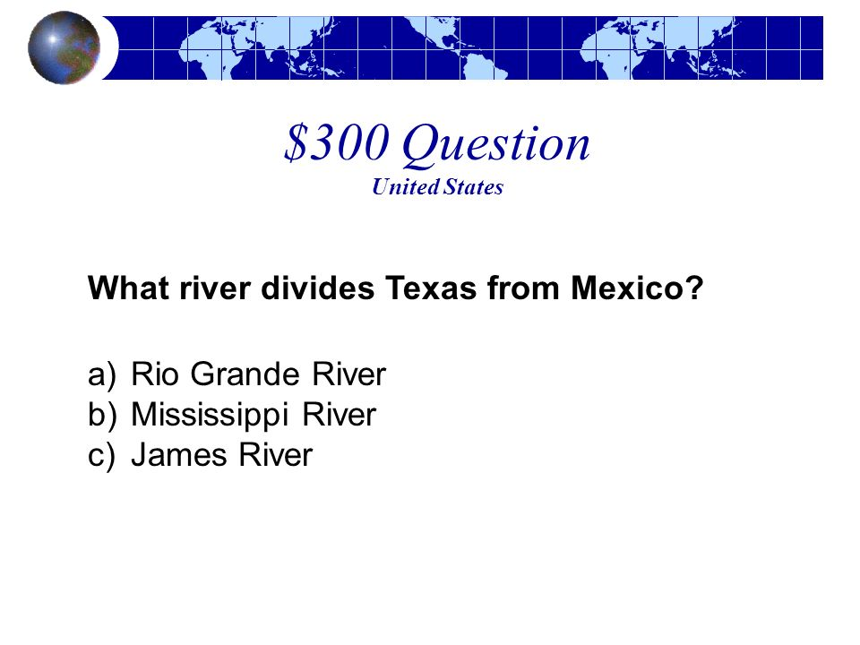 $300 Question United States