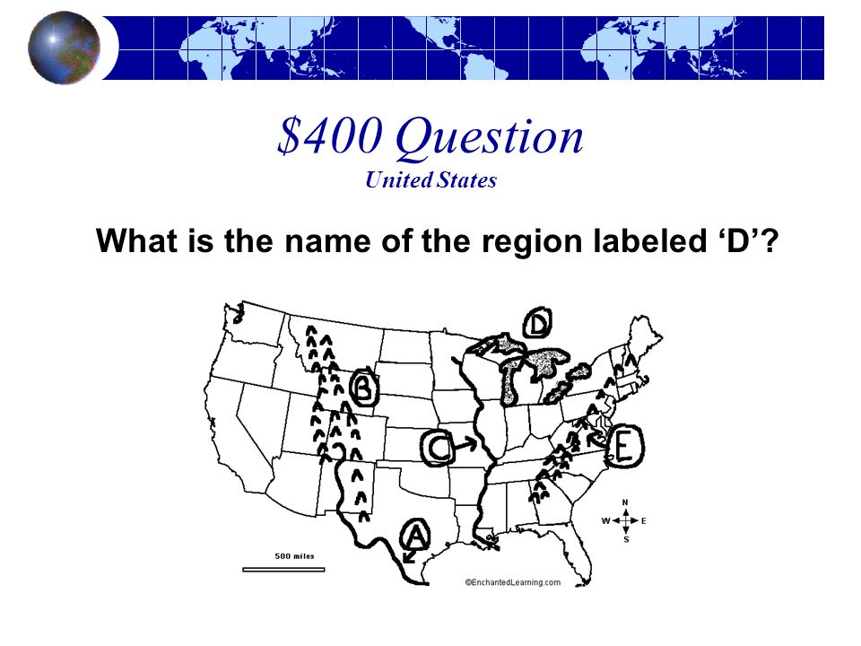 $400 Question United States