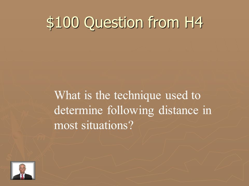 $100 Question from H4 What is the technique used to