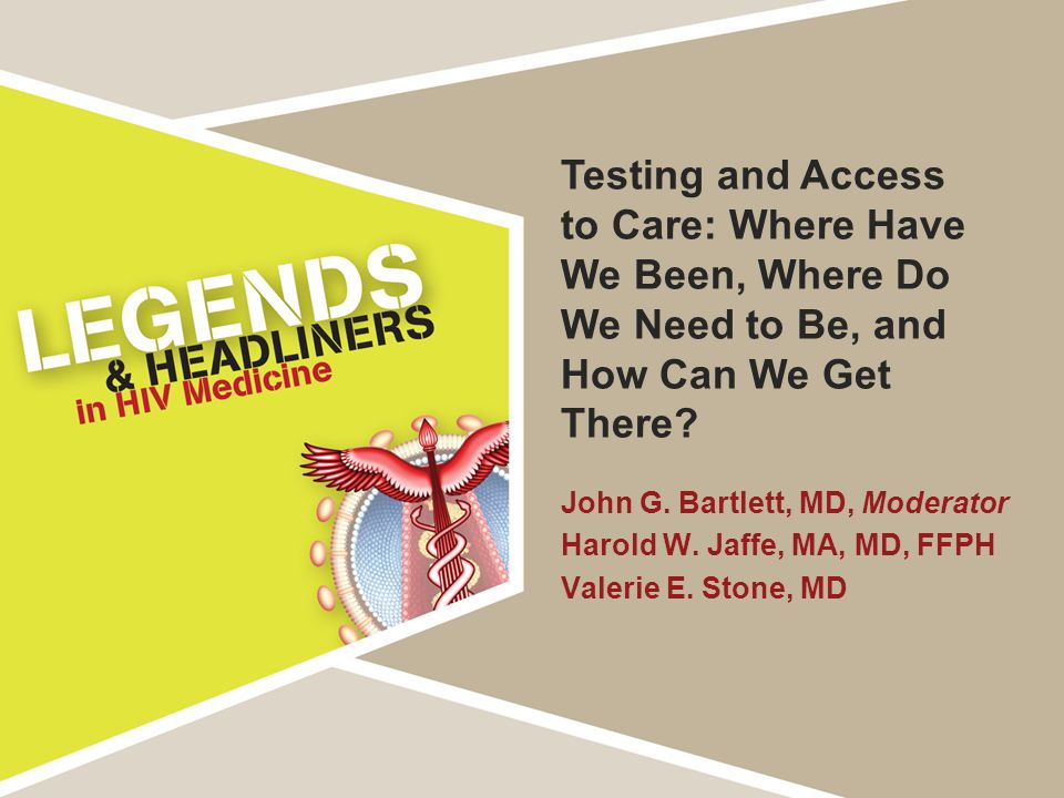 Testing and Access to Care: Where Have We Been, Where Do We Need to Be, and How Can We Get There