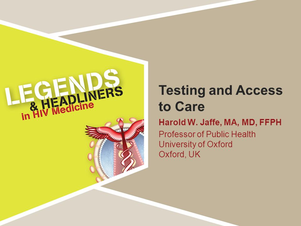 Testing and Access to Care