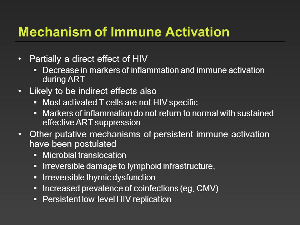 Mechanism of Immune Activation